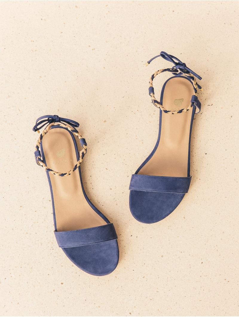 Plates Sandales La Bleu Aimée Égyptien Bien Bobbies rdQshCt