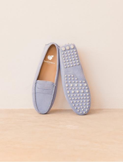 Parisienne - Bleu Azurin