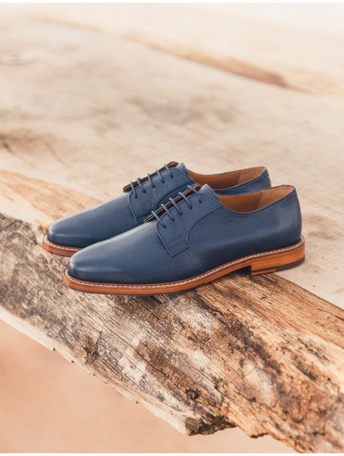L'Admirateur - Navy Blue (Leather)