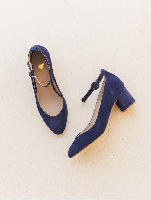 L'Admiratrice - Navy Blue