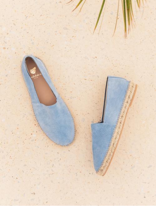 Le Flâneur - Bleu Printanier