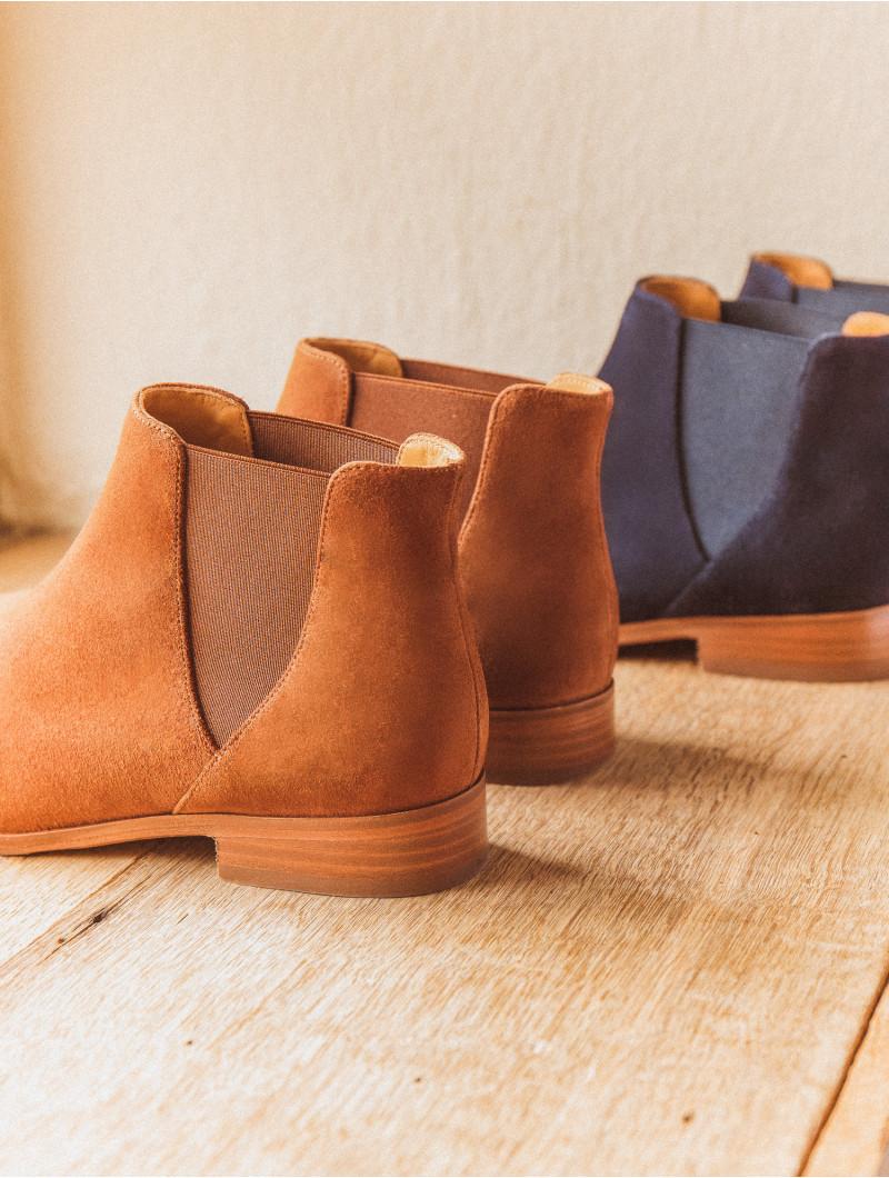 Boots (Plates & Mi Hautes) La Londonienne Tabac Bobbies
