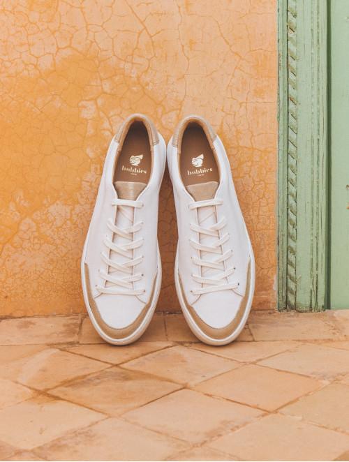 La Venice - White & Sanded Gold