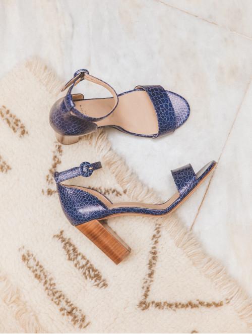 La Perchée - Bleu Sauvage