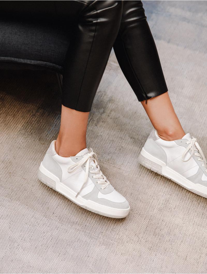 Longbeach - White & Silver