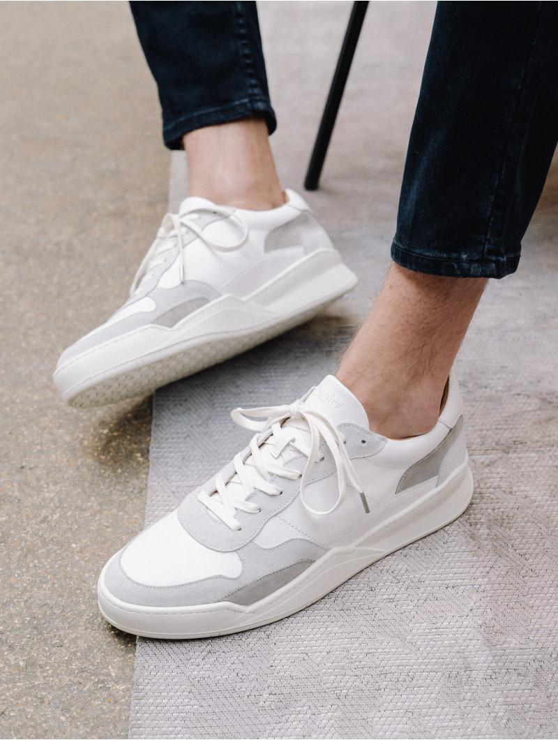 Malibu - White & Grey